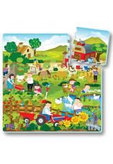 Puzzle Eva 9 Stück Bauernhof