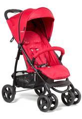 Kinderwagen Nonna Rot + Tasche + Regenschutz Bebedue 12210