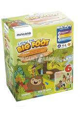 Gioco Didattico Follow The Big Foot Miniland 31891