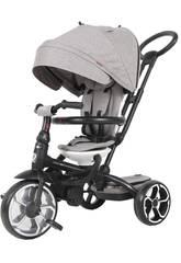 Triciclo Prime 5 en 1 Gris QPlay T551