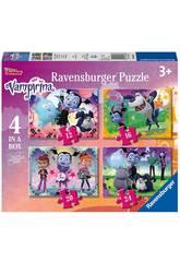 Vampirina Puzzle fortschrittlich 4 in 1 Ravensburger 6973
