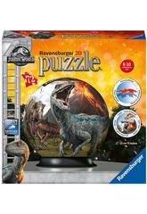 Jurassic World Puzzleball 3D 72 Pièce Ravensburger 11757
