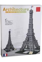 Blocs de Construction Tour Eiffel 1777 Pièces