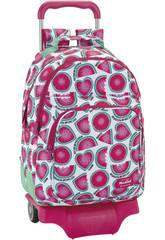 Sac avec Trolley Blackfit8 Watermelon Safta 641839863