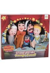Set 5 Marionnettes Personnages de Contes