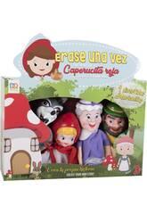 Set 4 Marionnettes Le petit chaperon rouge