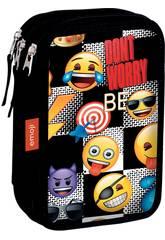 Astuccio Triple Emoji Sticker Perona 55172