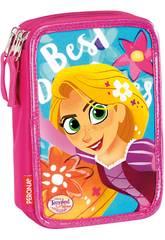 Astuccio Triple Disney Rapunzel Castle Perona 55671