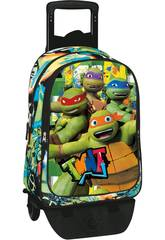 Sac á Dos avec Trolley Turtles Border Perona 53966