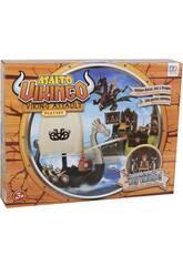 Asalto Vikingo Playset con Barco, Isla y Figuras