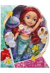 Bambola Ariel luci e glitter 35 cm. Glop Games 84872