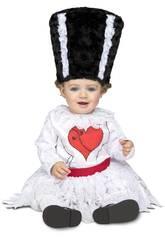 Disfraz Bebé M Novia de Frankie