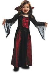 Disfraz Niña XL Vampiresa Reina