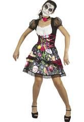 Disfraz Adulto S Mujer Día de los Muertos