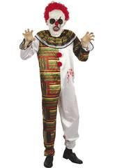 Déguisement Adulte Homme Clown Horripilant Taille XL