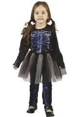 Disfraz Bebé Esqueleta Rayos X Talla S