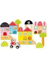 Pack 40 Piezas Arquitecturas Conejito Diset 50201