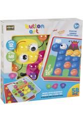 Puzzle Boutons Emboitables 58 Pièces