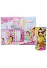 Pack Chateau Mallette et Poupée Belle Hasbro C6116500