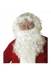 Peluca y Barba Con Bigote Papá Noel Rubies S1550