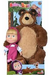 Boneca Masha 23 cm. Com Urso de Peluche Simba 9301016