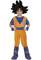 Kostüm für Kinder XXL Dragon Ball Super ich möchte Son Goku sein