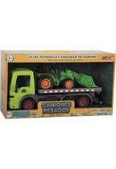Camion 31.5 cm avec Véhicule de Construction 20 cm à Friction