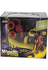 Monster Truck Vehículos Acróbatas con Rampa