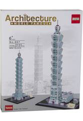 Bloques de Construcción Taipei 101 2131 Piezas