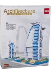 Blocs de Construction Burj Al Arab Hotel 2342 Pièces