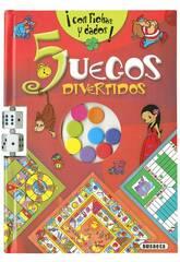 5 Lustige Spiele Susaeta S3405