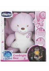 Panneau de Berceau Ourson Bonne Nuit Rose Chicco 91561
