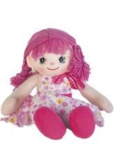 Bambola di Pezza Rosa 35 cm
