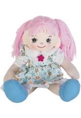 Bambola di pezza Vestito Blu 35 cm