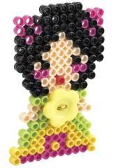 Modische Pins Prinzessin Blume 230 Perlen