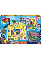Set 8 Juegos en 1 Mickey e os Superpilotos Educa 17225