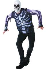 Maglietta Skull Trooper Fortnite Taglia Teen