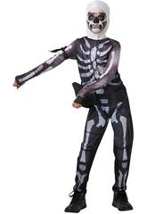 Kostüm Junge Skull Trooper Fortnite Größe Tween