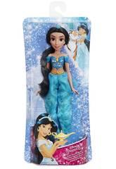 Muñeca Princesas Disney Jasmín Brillo Real Hasbro E4163EU40