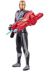 Avengers Iron Man 30 cm. con Cañón Power FX Hasbro E3298