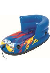 Trenó Inflável Criança com Encosto H2O Go! Snow 84x46 cm. Bestway 39057