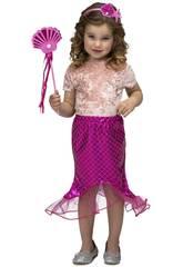 Tutu Petite Sirène Rose Taille S