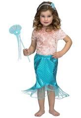 Tutu blaue Meerjungfrau Größe S