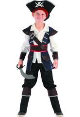 Disfraz Pirata Niño Talla S
