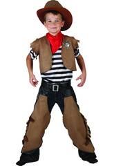 Disfraz Cowboy Niño Talla S