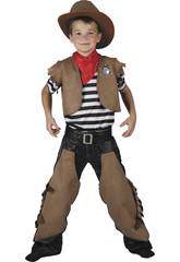 Costume Cowboy Ragazzo L
