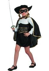 Disfraz Bandida Niña Talla XL