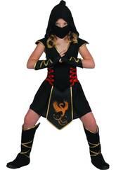 Disfraz Ninja Niña Talla M