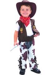 Costume Cowboy Bebè S