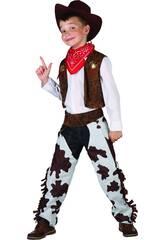 Disfraz Vaquero Niño Talla L